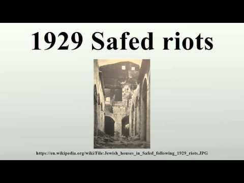 1929 Safed riots