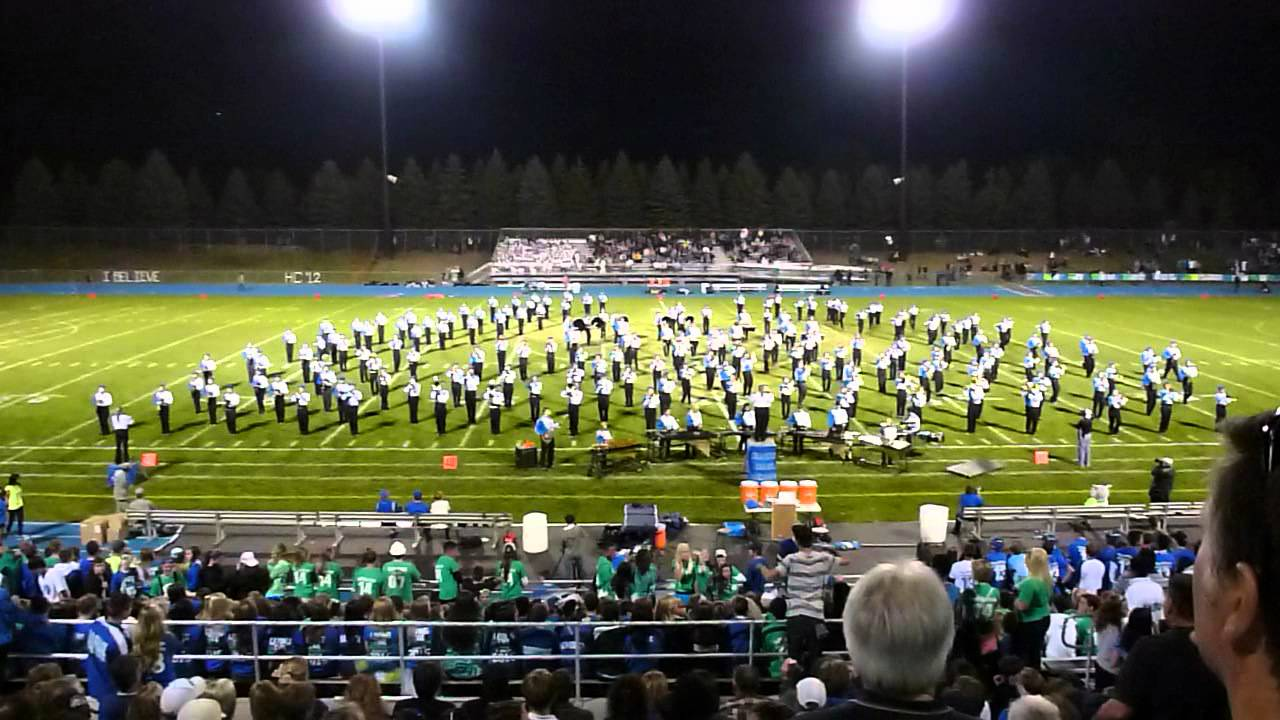 Eagan High School Marching Band Homecoming 2012