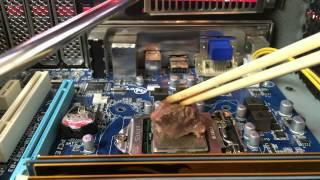 パソコン熱すぎ!これで焼き肉できるんじゃね?→その結果…。