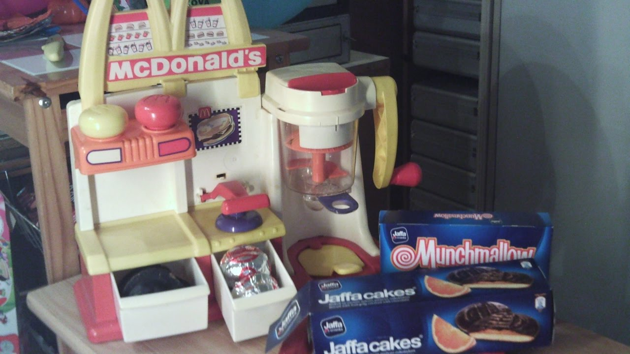 Kinder Spiele Küche Mc Donald S Kinder Küche Spielküche Burger Machen Make Play Kitchen Happy Meal Suprice