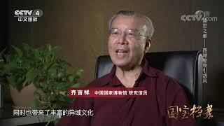 《国宝档案》 20190919 盛世之都——西域驼铃引胡风| CCTV中文国际