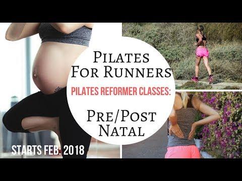 New Pilates For Runners & Pre/Post Natal Pilates Reformer Group Classes: Feb: 2018