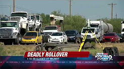 Crews working fatal rollover on I-10 between Wilmot and Kolb