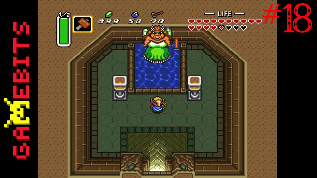 Let's Play The Legend of Zelda: A Link to the Past: Super Bomb + Master  Sword (18/22)