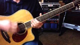 Alternate Tuning EF#DF#BD - Key B Natural Minor