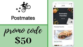NEW POSTMATES Promo Code in 2020 🍔 🍟 SAVE $50 Postmates Discount Code & Voucher Works! 😍