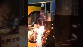 專業雷射切管機-H型鋼切割