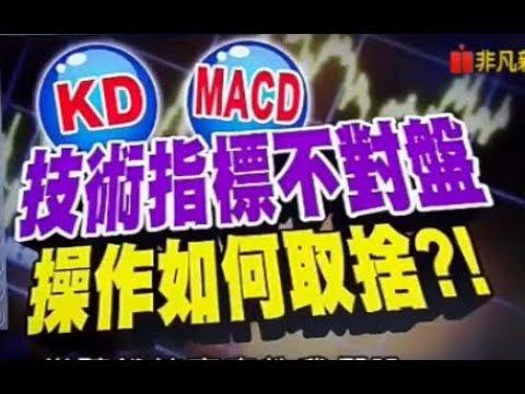 【股票】KD,  MACD 不對盤, 技術指標 操作 盲點 的克服法  |錢線百分百|股票投資|財富自由