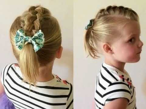 Cute Hairstyles For Short Hair Kids Girls Easy
