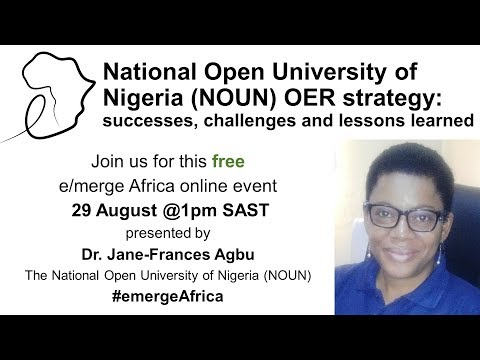 National Open University of Nigeria (NOUN) OER strategy: successes, challenges and lessons learned