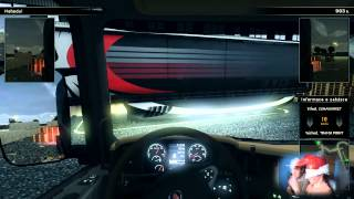 Scania truck driving simulator - JÍZDA POSLEPU  Let