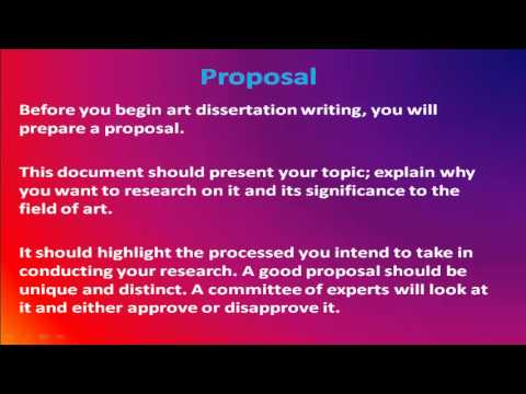 Dissertation writing guide youtube