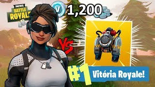 FORTNITE-I BOUGHT THE ARCTIC SKIN AND WON IT FROM JETPACK!