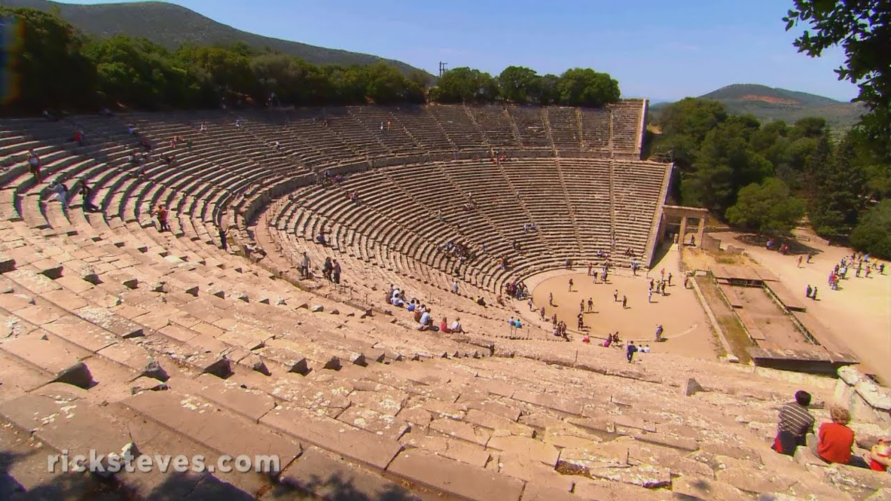 Epidavros, Greece: Perfect Acoustics - YouTube