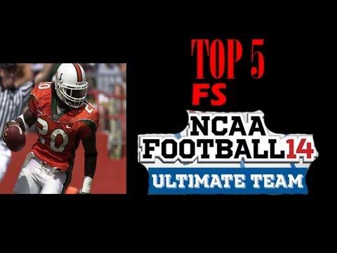 Top 5 Free Safeties in NCAA 14