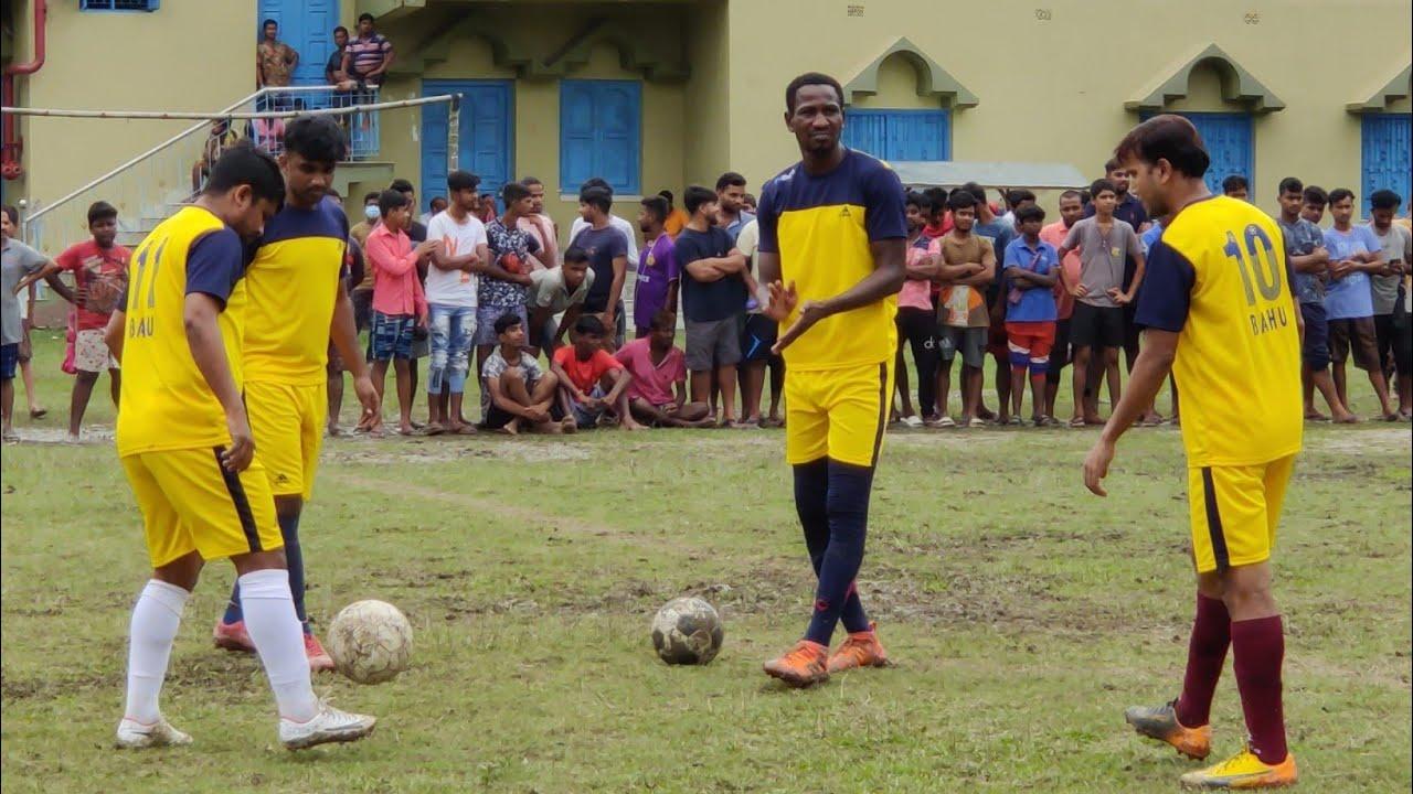 Quality & Skill full ফুটবল খেললো বাঙালি প্লেয়াররা 🔥⚽অগ্নিশিখা ক্লাব vs বাহু বাদকুল্লা