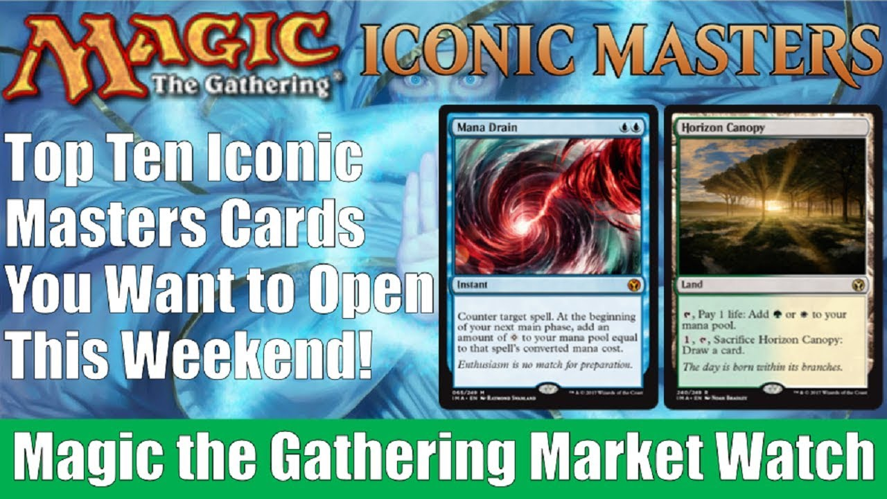 MTG Market Watch 10 Iconic Masters Cards You Want to Open This Weekend!  sc 1 st  YouTube & MTG Market Watch: 10 Iconic Masters Cards You Want to Open This ...