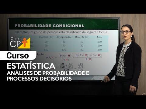 Clique e veja o vídeo Curso Estatística: Análises de Probabilidade e Processos Decisórios