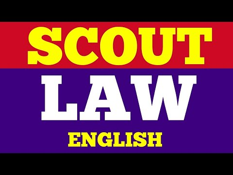 Scout Law {English}