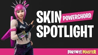 Powerchord Skin Spotlight (Fortnite Battle Royale)