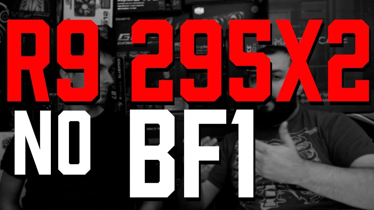 PROVA DE FOGO!! AMD R9 295x2 - RODA BATTLEFIELD 1