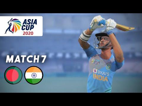 India V Bangladesh - Asia Cup 2020 Match 7 - Gaming Series (Ashes Cricket 19)