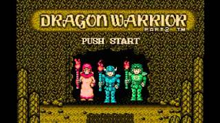 Dragon Warrior II (NES) Music - Overworld Theme Hero
