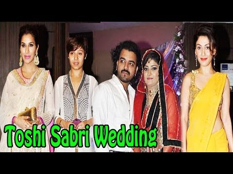 Singer Toshi Sabri & Amna Wedding Reception | Uncut