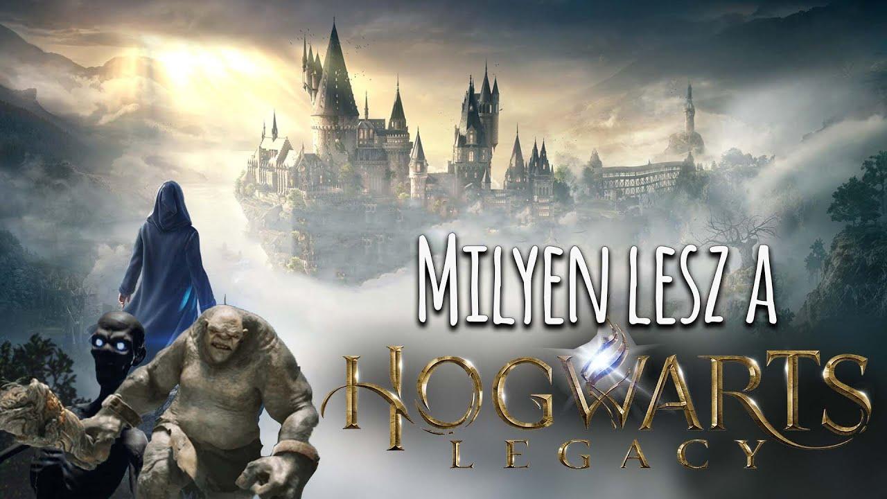 Új Harry Potteres játék!   Hogwarts Legacy bemutató és vélemény   Harry Potter Világa