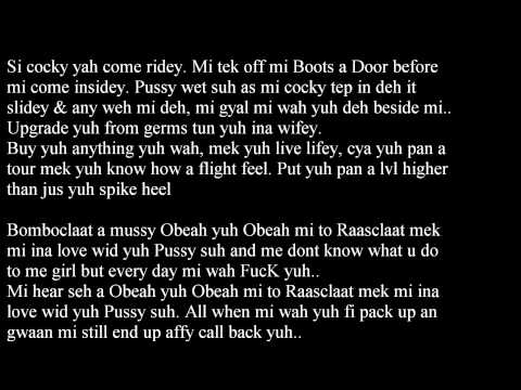 Alkaline - Obeah Raw Lyrics January 2014