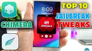Top 10 A12 Jailbreak Tweaks on iOS 12 - 12.1.2 Chimera Jailbreak!