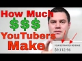 HOW MUCH Do Small YouTubers MAKE - $70,000??