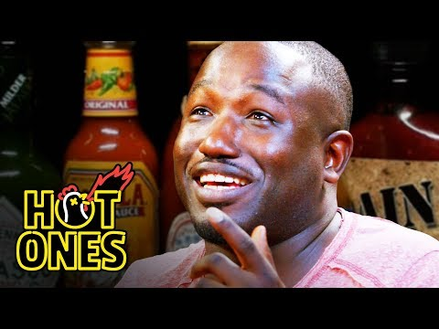 Hannibal Buress Freestyles While Eating Spicy Wings | Hot Ones