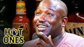 Hannibal Buress Freestyles While Eating Spicy WingsHot Ones