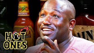 Download Hannibal Buress Freestyles While Eating Spicy Wings | Hot Ones Mp3 and Videos