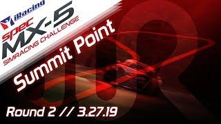 2019 SPEC MX-5 SimRacing Challenge || iRacing || Summit Point - Round 2