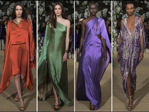 Коллекция платьев Ральфа Лорена весна-лето 2017