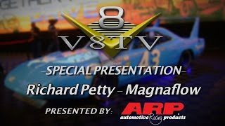 Richard Petty Shares Thoughts On 2015 SEMA Show in MagnaFlow Display V8TV Video