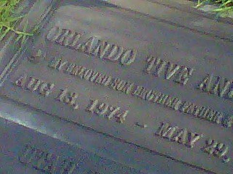 Orlando Anderson Murder Scene [RARE]