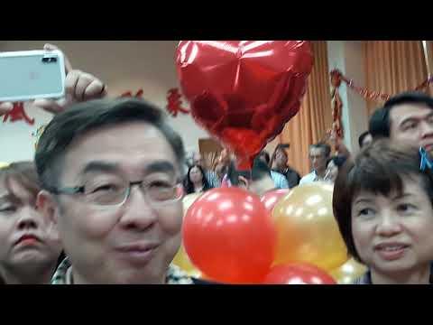 亞洲全球新聞【記者胡志忠(小胡)高雄報導】韓國瑜市長在市警局新春團拜時唱歌希新年開心