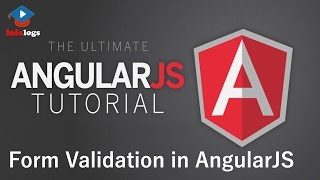 AngularJS Video Tutorials - How to use Form Validation