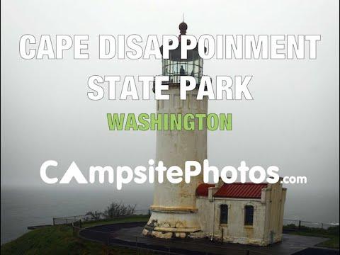 Cape Disappointment State Park Washington Campsite Photos