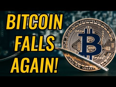 Bitcoin & Crypto Markets Fall Below Critical Support! The Bear Market Is Back?! Cryptocurrency News!