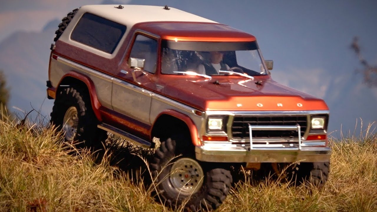 traxxas trx 4 customized ford bronco the ranger in the. Black Bedroom Furniture Sets. Home Design Ideas