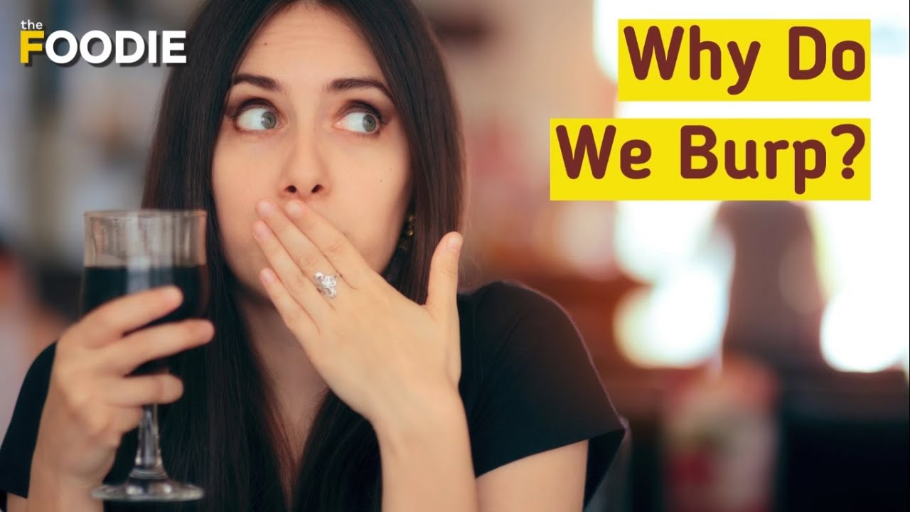 Why Do We Burp? | Burping And It's Benefits | The Foodie