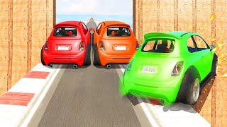 2000 IQ RACETRACK BLOCK TROLL! (GTA 5 Funny Moments)