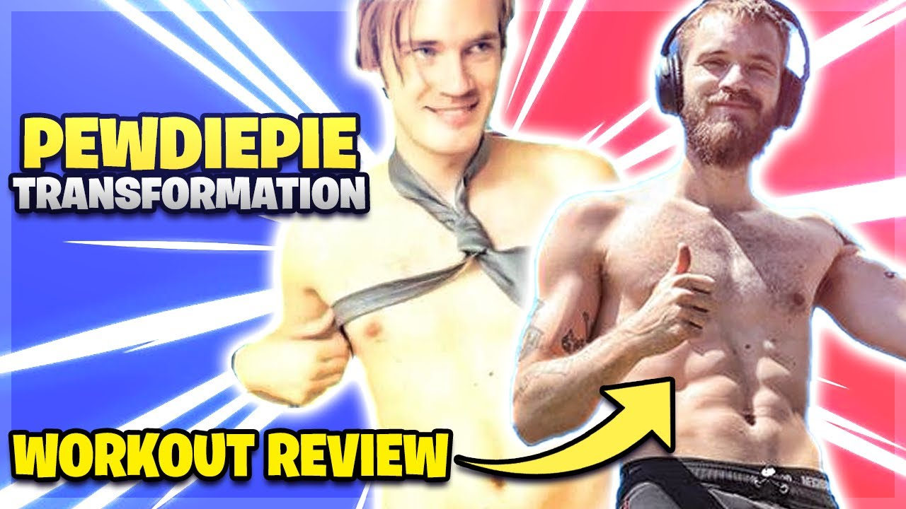 REVIEWING PEWDIEPIES WORKOUT REVIEW
