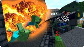 ВЗРЫВ В ЛАБОРАТОРИИ! СОЛДАТЫ ШАМАНА! ЧАСТЬ 1. ЗОМБИ АПОКАЛИПСИС В МАЙНКРАФТ! - (Minecraft - Сериал)