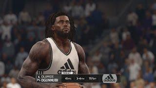 NBA LIVE 16 - Rising Star Gameplay (MyCAREER) Pt 1: Rookie Showcase & Draft [1080p 60FPS HD]