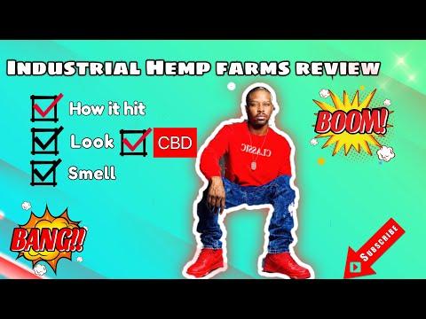 Industrial Hemp Farms unboxing